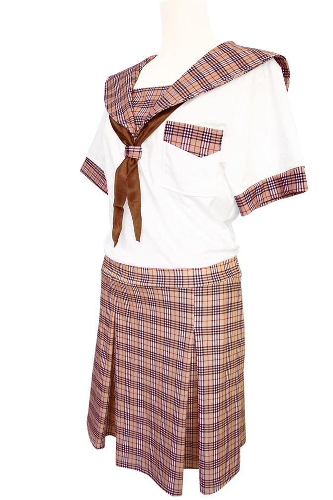 チェック柄制服パジャマ おとこの娘用TMT-1471 商品説明画像6
