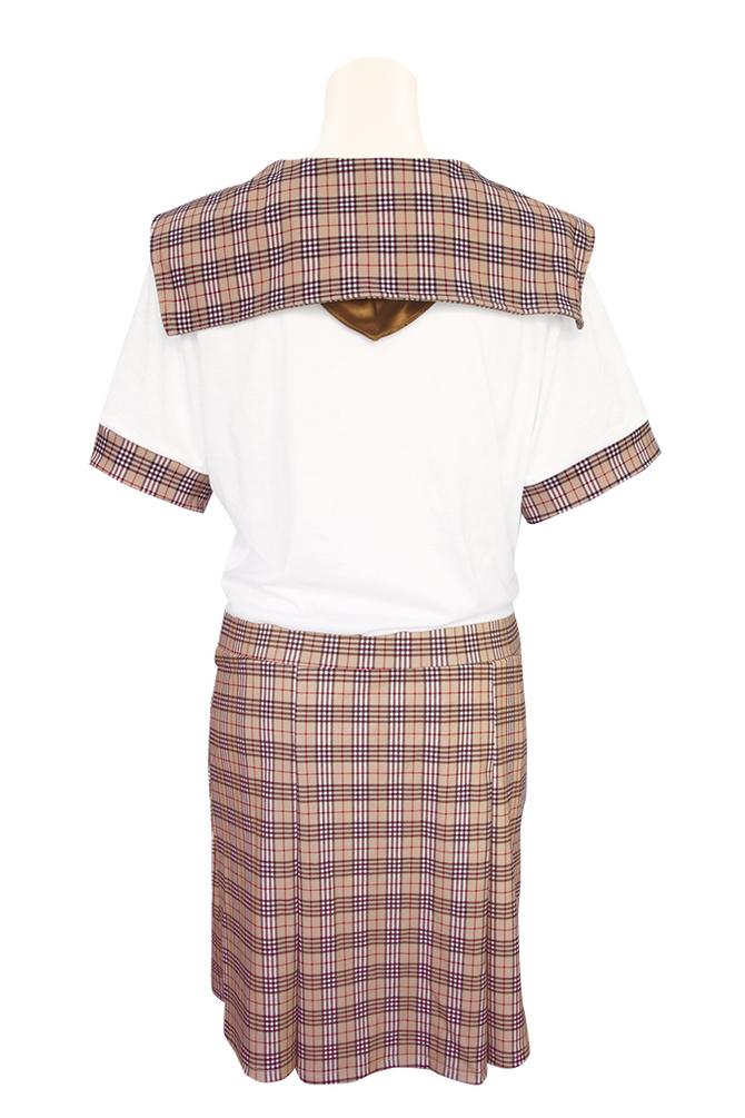 チェック柄制服パジャマ おとこの娘用TMT-1471 商品説明画像7