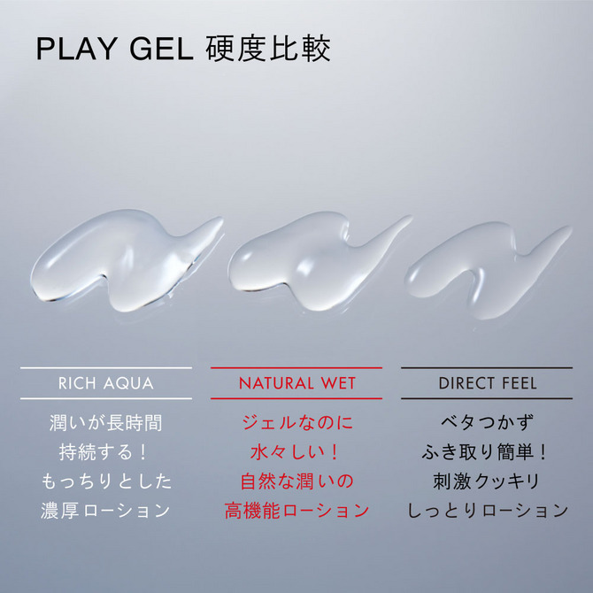 TENGA PLAY GEL RICH AQUA TPG-101 商品説明画像2