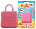 BURGER CUTIE PADLOCK【キューティーパッドロック】ピンク