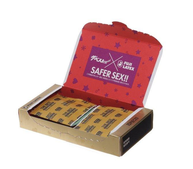 ザ・ベスト コンドーム 0.1mmストロング 10個入  商品説明画像2