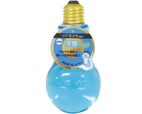 【販売終了・アダルトグッズ、大人のおもちゃアーカイブ】電球ローション 冷感 ミントの香り(ブルー) 【2002】 商品説明画像1