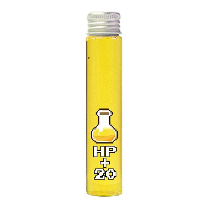 【販売終了・アダルトグッズ、大人のおもちゃアーカイブ】魔法の液体シリーズ HP+20 ヒットポイントが上昇する気がするタイプ(100ml) 商品説明画像1