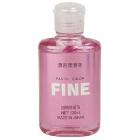 【販売終了・アダルトグッズ、大人のおもちゃアーカイブ】濃密潤滑液FINE パステルピンク