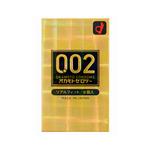 【OKAMOTO CONDOMS 0.02】オカモト ゼロツー 0.02ミリ リアルフィット 6個入り