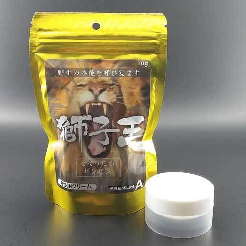 【獅子王】-男性用クリーム 10g 商品説明画像1