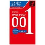 オカモト ゼロワン 0.01ミリ たっぷりゼリー 3個入り ◇
