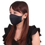 女性用 日本製 涼やかメッシュマスク ネイビー(X0138NB)