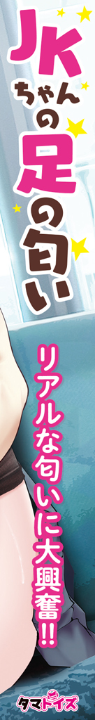 【今ならクリアファイルが付いてくる!!!】JKちゃんの足の匂いTMT-1533 商品説明画像3