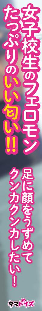 【今ならクリアファイルが付いてくる!!!】JKちゃんの足の匂いTMT-1533 商品説明画像4