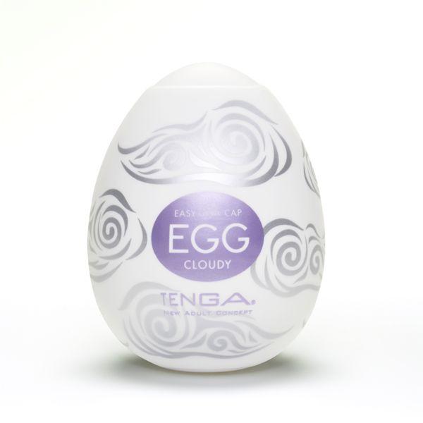 TENGA EGG CLOUDY[クラウディ] (限定100ポイント還元!) EGG-010 商品説明画像1