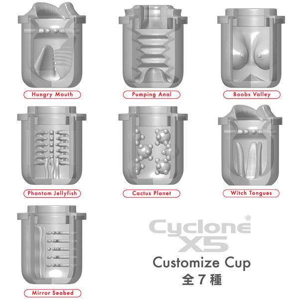 CycloneX5 Custom Cup #2 Witch Tongues 商品説明画像4