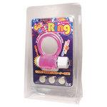 【販売終了・アダルトグッズ、大人のおもちゃアーカイブ】メイト GO GO RING(ピンク) ボタン電池3本付き