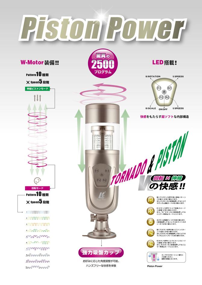 【数量限定&送料無料!】Piston Power(ピストンパワー) 商品説明画像8