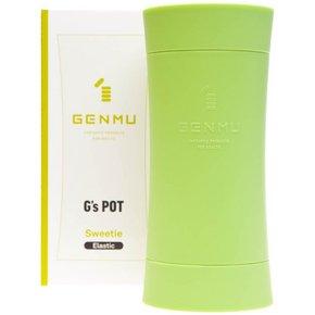 【販売終了・アダルトグッズ、大人のおもちゃアーカイブ】GENMU G's POT Green Sweetie Elastic GCH01010