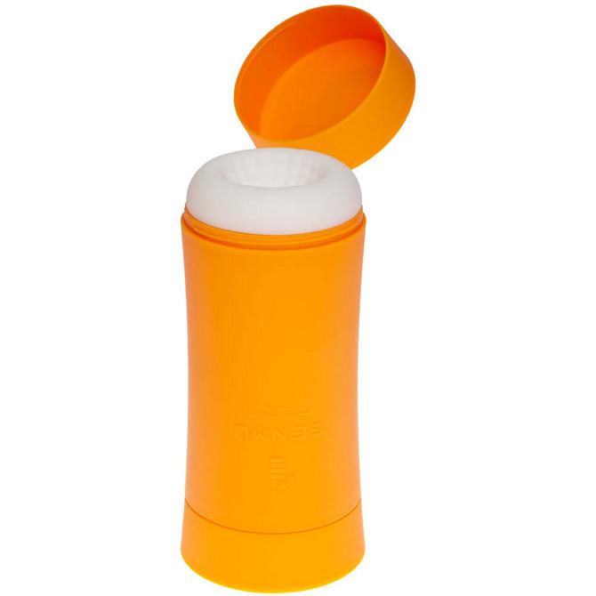 【販売終了・アダルトグッズ、大人のおもちゃアーカイブ】GENMU G's POT Orange Mellow Solid GCH01020 ◇ 商品説明画像4