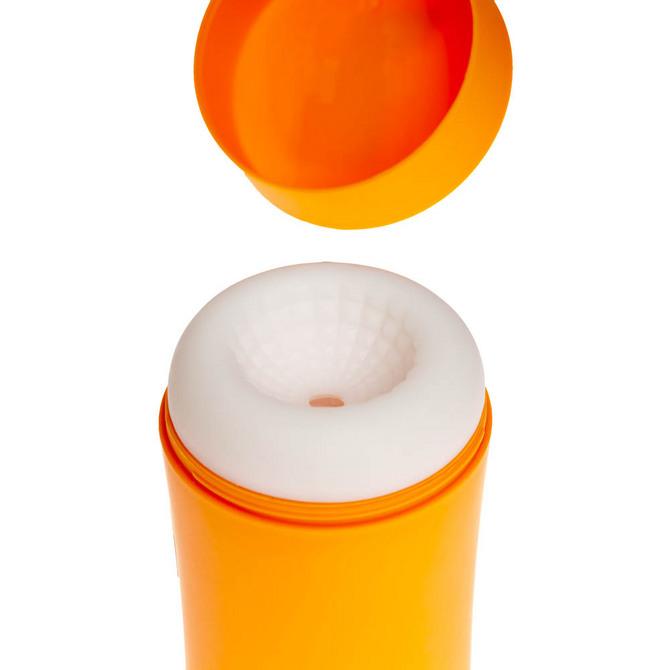 【販売終了・アダルトグッズ、大人のおもちゃアーカイブ】GENMU G's POT Orange Mellow Solid GCH01020 ◇ 商品説明画像6
