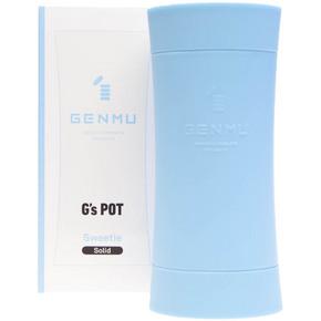 【販売終了・アダルトグッズ、大人のおもちゃアーカイブ】GENMU G's POT Blue Sweetie Solid GCH01040