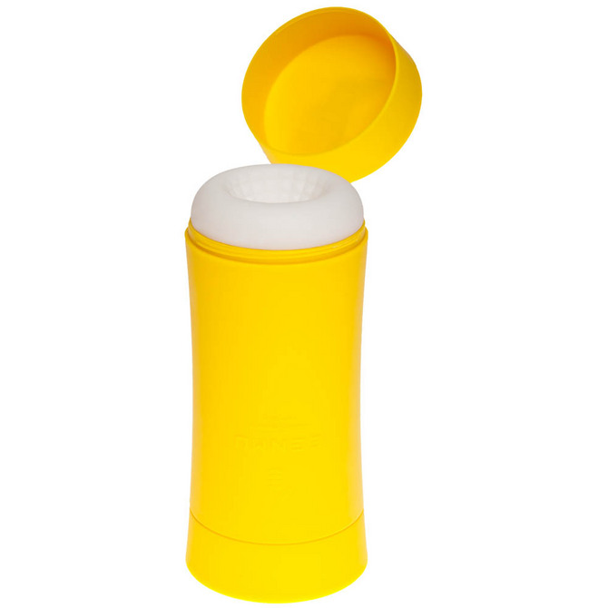 【販売終了・アダルトグッズ、大人のおもちゃアーカイブ】GENMU G's POT Yellow Mellow Moderate GCH01050 ◇ 商品説明画像4