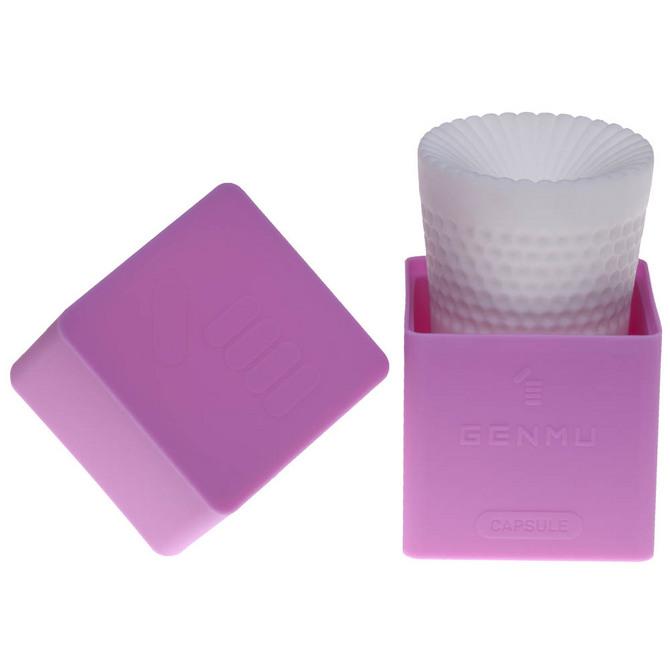 【販売終了・アダルトグッズ、大人のおもちゃアーカイブ】GENMU Capsule G-wave Purple GC011010 商品説明画像2