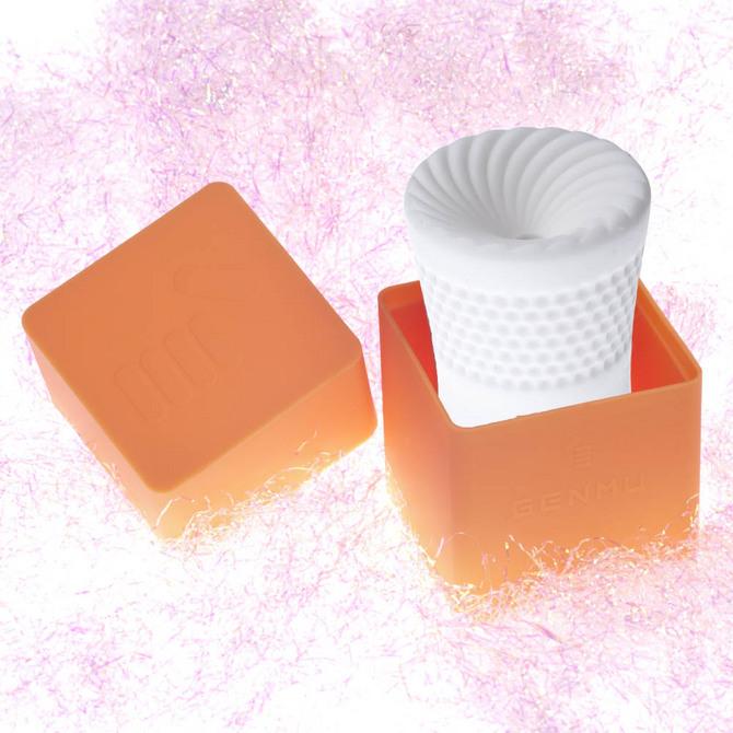 【販売終了・アダルトグッズ、大人のおもちゃアーカイブ】GENMU Capsule G-screw Orange GC011030 ◇ 商品説明画像1