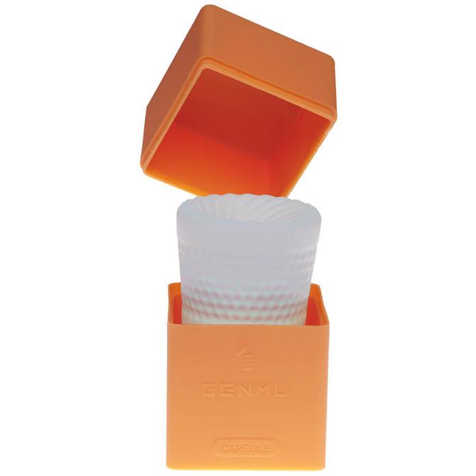 【販売終了・アダルトグッズ、大人のおもちゃアーカイブ】GENMU Capsule G-screw Orange GC011030 ◇ 商品説明画像2