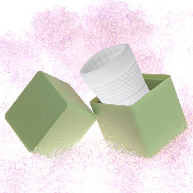 【販売終了・アダルトグッズ、大人のおもちゃアーカイブ】GENMU Capsule G-Square Green GC011040 商品説明画像1
