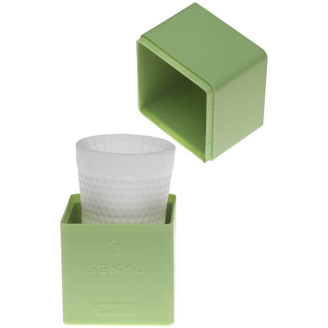 【販売終了・アダルトグッズ、大人のおもちゃアーカイブ】GENMU Capsule G-Square Green GC011040 商品説明画像2