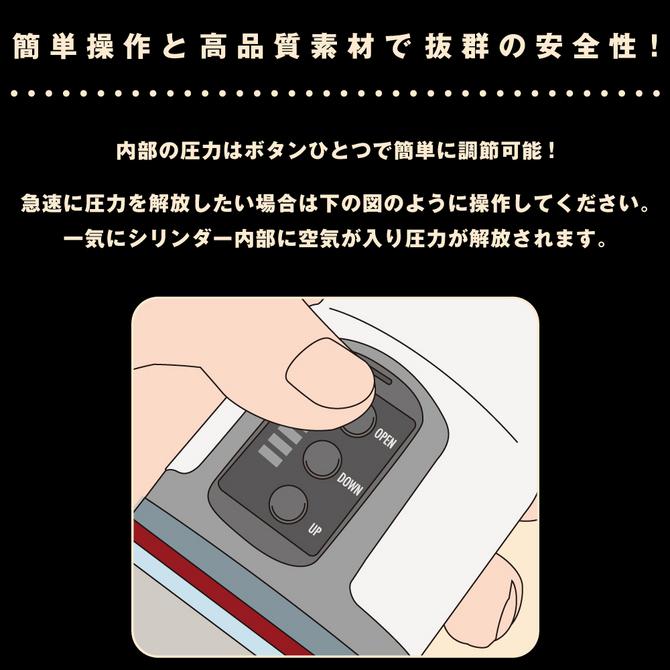 【販売終了・アダルトグッズ、大人のおもちゃアーカイブ】メガエレクトロポンプ UPPP-009 商品説明画像5