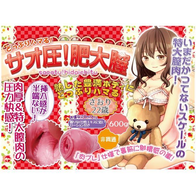 【販売終了・アダルトグッズ、大人のおもちゃアーカイブ】サオ圧! 肥大膣 商品説明画像5