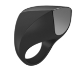 OVO A1 RECHARGEABLE RING BLACK/CHROME OVO-104