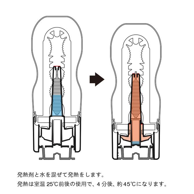 【2018年今季物!】HOT TENGA ホットテンガ 【温かさに包まれる極上の体感!】  商品説明画像2