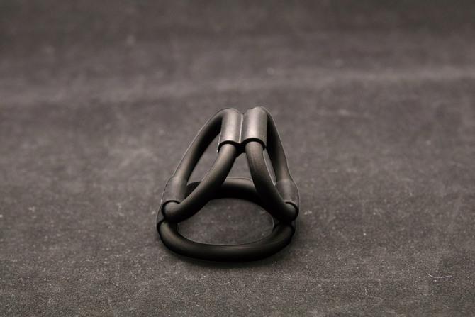 【販売終了・アダルトグッズ、大人のおもちゃアーカイブ】トライアングルシリコンリング TMT-770 商品説明画像3