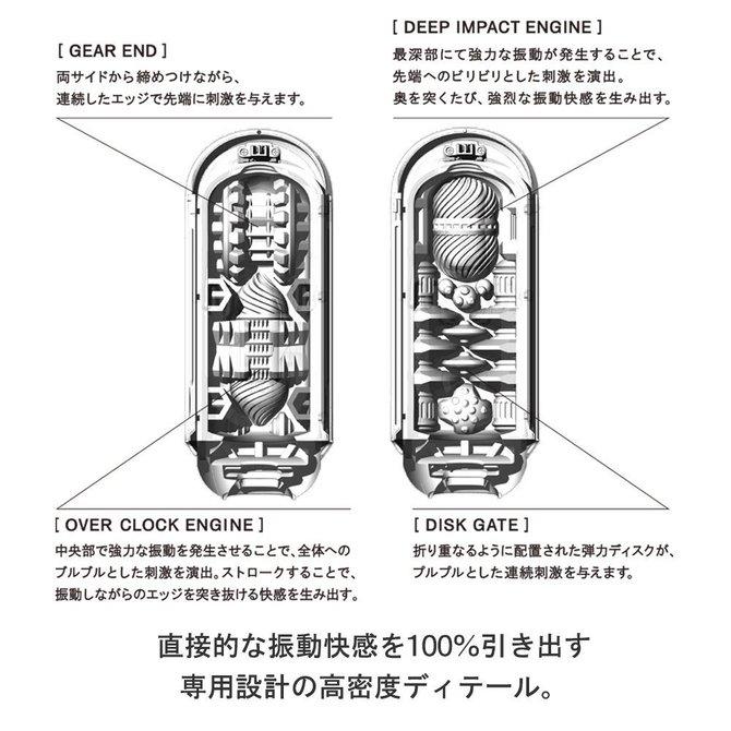 【業界最安値&送料無料&ポイント還元!】TENGA FLIP 0(ZERO)ELECTRONIC VIBRATION (テンガ フリップ ゼロ エレクトロニック バイブレーション) TFZ-101 商品説明画像4