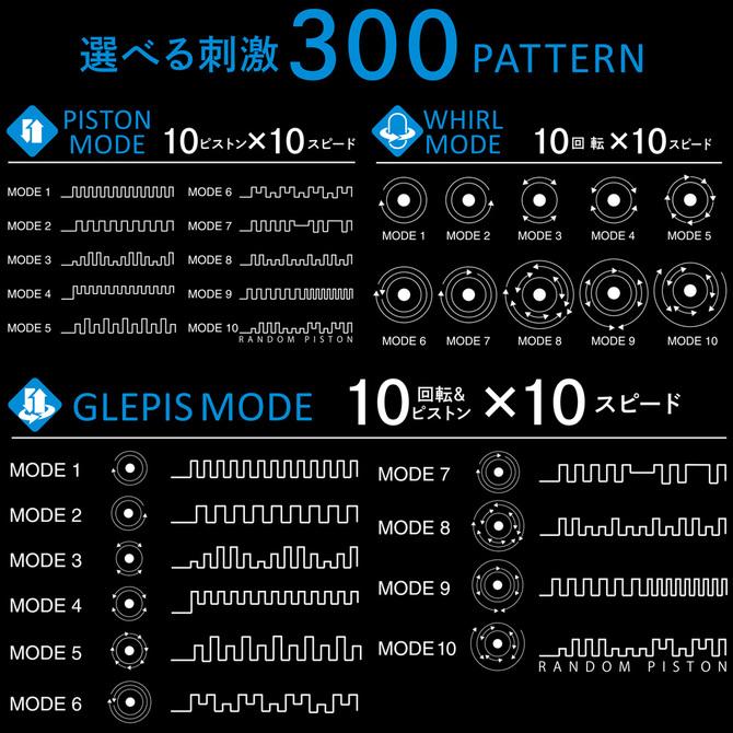 【送料無料&ポイント還元!】JAPAN-TOYZ 【回転×ピストン】 電動ホール NOL GLEPIS(ノール グルピス) 商品説明画像10