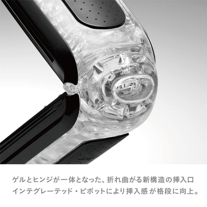 【業界最安値!】 TENGA FLIP 0 [ZERO] BLACK テンガ フリップ ゼロ ブラック【ミニローション付き】 繰り返しタイプ TFZ-002 商品説明画像3