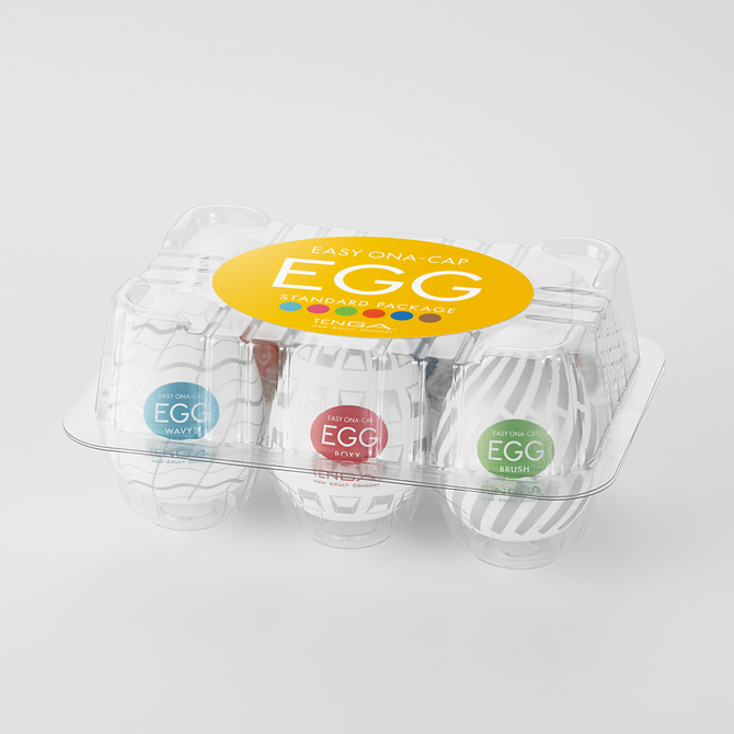 TENGA EGG STANDARD PACKAGE (テンガ エッグ スタンダード パッケージ)EGG-VP003 商品説明画像1