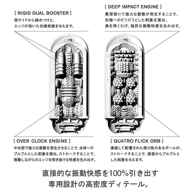 【業界最安値&送料無料!】TENGA FLIP 0(ZERO)ELECTRONIC VIBRATION BLACK TFZ-102 商品説明画像4