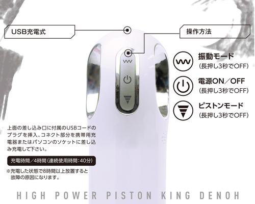 ピストンキング 電王 商品説明画像3