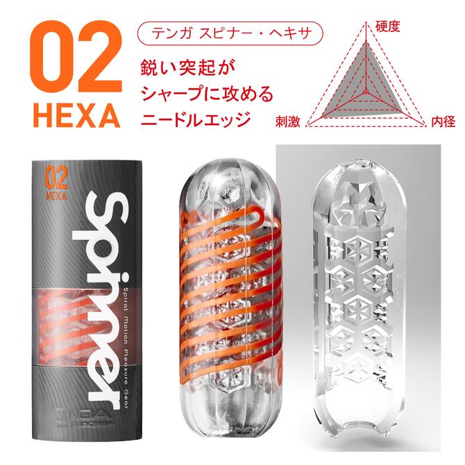 TENGA SPINNER 03SHELL  (テンガ スピナー シェル)繰り返しタイプ SPN-003 商品説明画像4