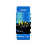 【50〜60%OFF!】YOUCUPS TWINS 4D Blue 1.Soft Large Grain Comfortable ツインズ ツインパワーフォーディー 1.ソフトラージグレイン ブルー ◇