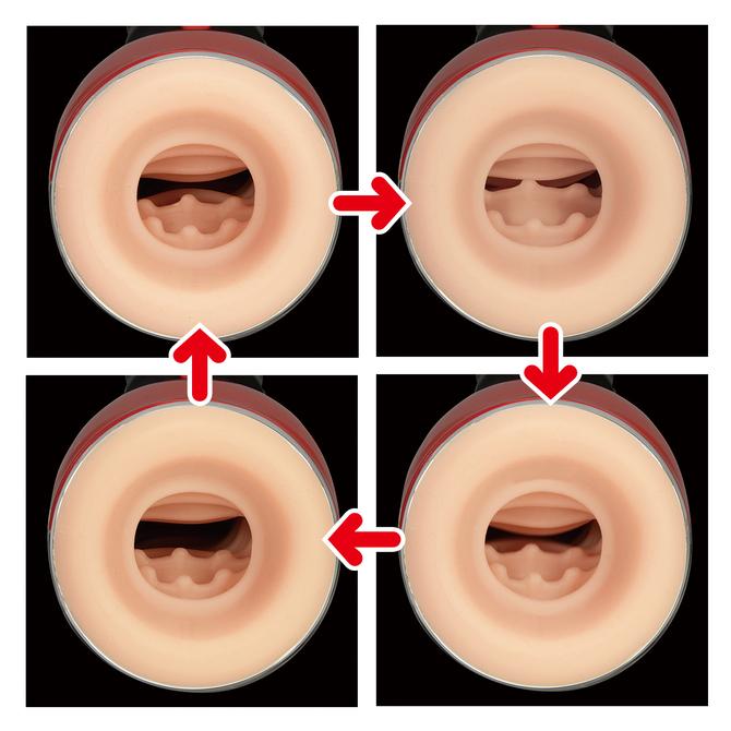 【期間限定380ポイント還元!】マルチハンディ電動オナホール ターンナップ バット 商品説明画像5