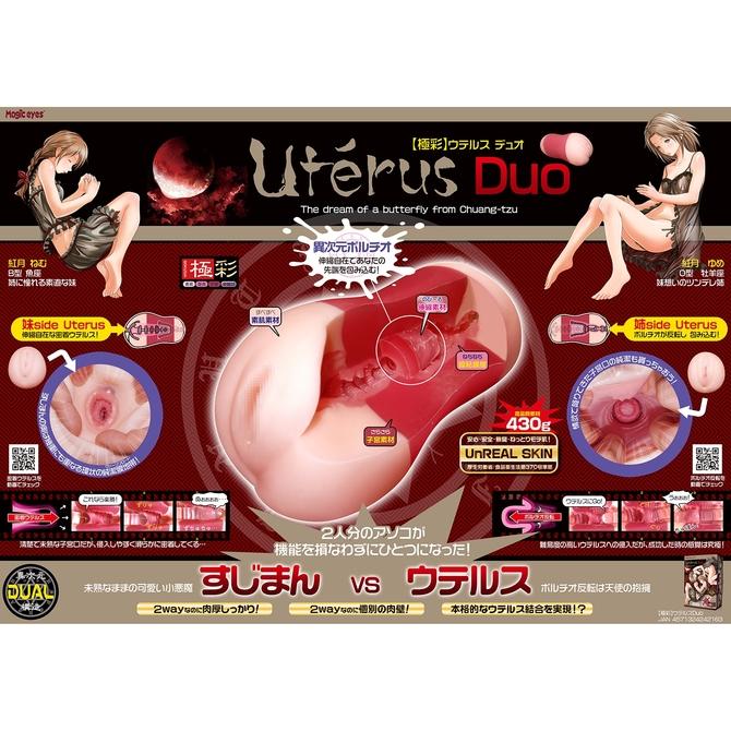 【50〜60%OFF!】極彩 ウテルス デュオ Uterus Duo 商品説明画像7