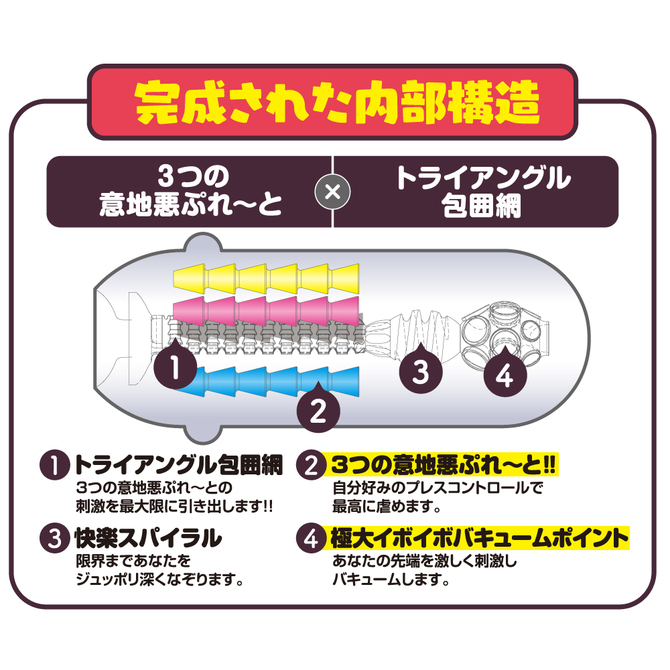 【タイムセール!】Ju-C[ジューシー]6 とりぷる意地悪ぷれ〜と     UGPR-123 商品説明画像4