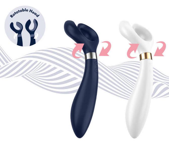 Satisfyer partner Multifun 3 White(サティスファイヤー パートナーマルチファン 3 ホワイト) 商品説明画像6