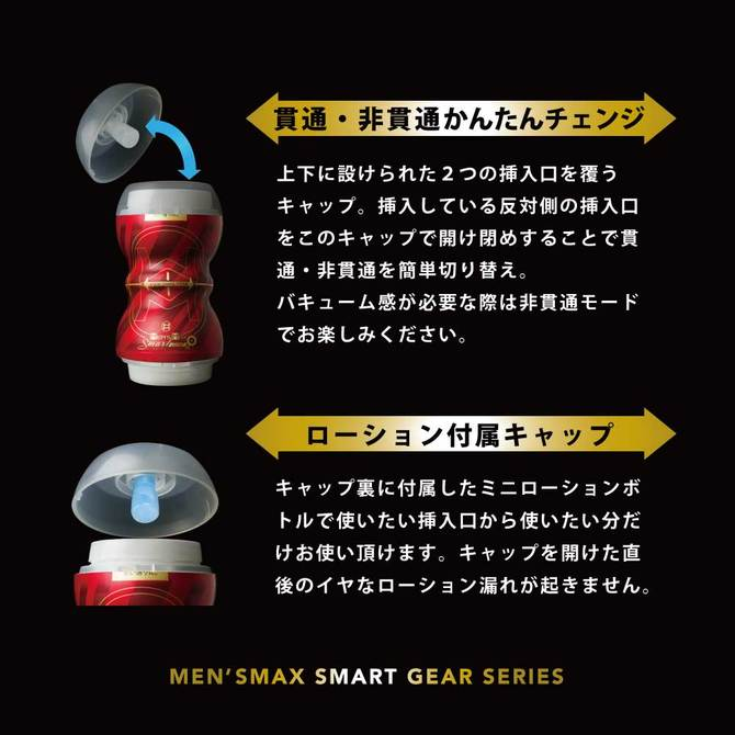 ENJOY TOYS MEN'S MAX SMART Gear BLACK(メンズマックス スマート ギア ブラック) 商品説明画像7