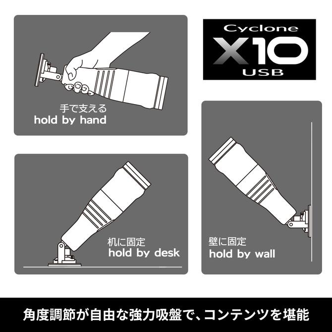 CycloneX10(サイクロンX10) USB 本体(新パッケージ版) 商品説明画像5