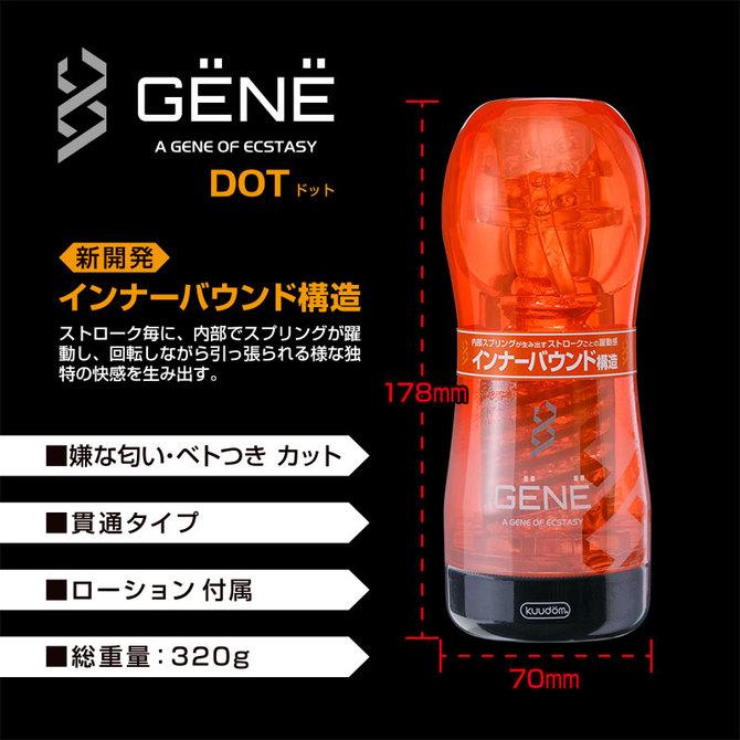 GENE(ジェーン) ドット 商品説明画像4