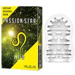 YELOLAB PASSION STAR LEO Yellow【スペースオナポッド やさしい刺激 4連WALL 携帯用に便利なシガレットボックス デンマカバー おもちゃカバー ローション付き】