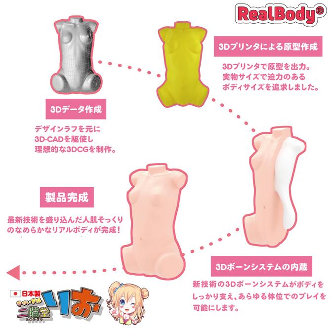 日本製リアルボディ+3Dボーンシステム ちゃいドル二階堂りお(二層構造) 商品説明画像3